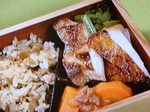 鶏のみそ漬け焼き&小松菜の蒸し焼き