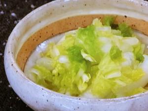 白菜のざくざく漬け