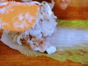 もこみち流 白身魚とエビの白菜巻きしょうゆ煮