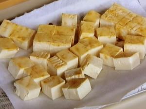 豆腐の長芋グラタン