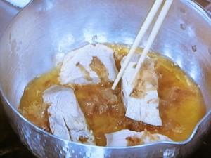 ぶりと水菜のサッと煮