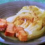 焼きキャベツとベーコンのスープ煮