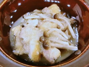 鶏の洋風みぞれ煮