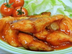 鯖のケチャップ焼き