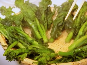 菜の花のナムル