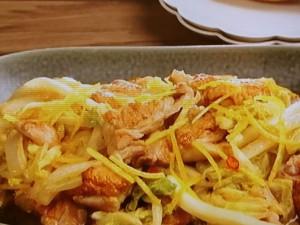 鶏肉と白菜の柚子マリネ