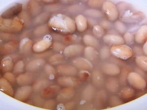 金時豆のシチュー