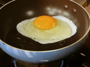 卵の折りたたみ焼き