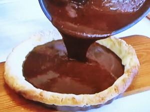 もこみち流 チョコレートとラズベリーのタルト