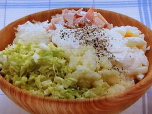 キャベツのポテトサラダ