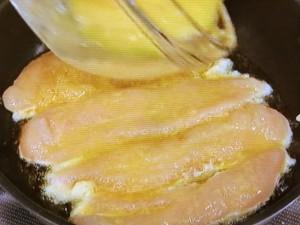 ささみの卵焼き