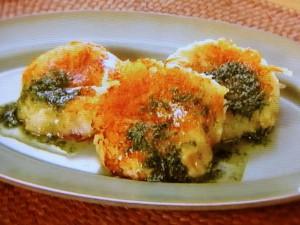 ホタテのジャガバタチーズ