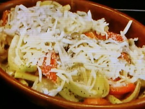 もこみち流 鶏肉と野菜のカレーグラタン