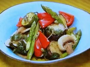 もこみち流 ミント香る野菜のマリネ
