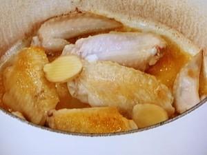 かぶと鶏手羽先の煮物