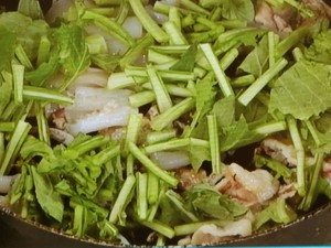 かぶの葉の三宝菜