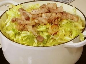 伝説の肉野菜炒め