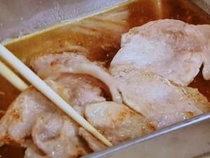焼きたけのこと豚肉のしょうが風味