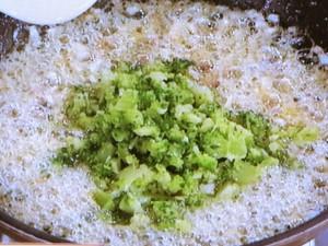 ブロッコリーと塩からのおにぎり