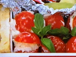 チーズツナマヨトマト
