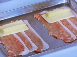 豚肉のチーズロール