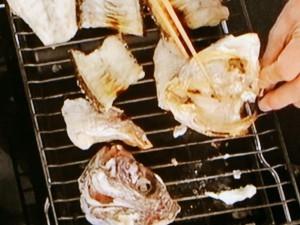 鯛のあらのキムチ煮込み