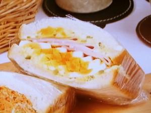ダブル卵サンド