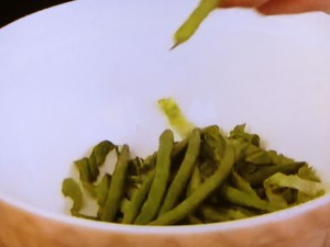 もこみち流 グリーンサラダ〜アンチョビドレッシング