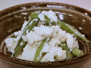 豆腐の塩麹漬け
