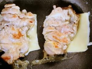 鶏のチーズ照り焼き