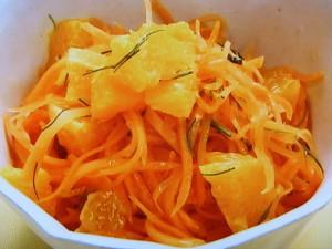にんじんのオレンジサラダ