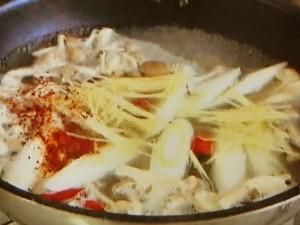 もこみち流 鯛のすり身の中華風辛スープ