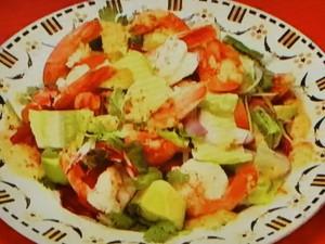 もこみち流 メキシコ風 エビとアボカドのサラダ