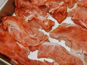 アスパラと豚こまの串カツ