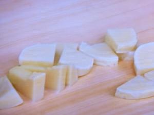 えびとたけのこのみそチーズ焼き