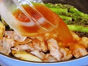 豚肉とナスの辛子炒め