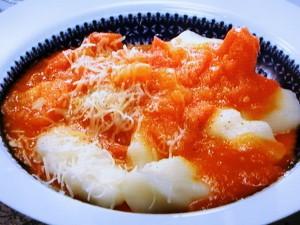 フレッシュトマトソースのニョッキ