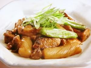 鶏肝のピリ辛炒め