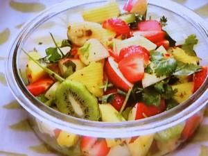 もこみち流 フルーツサラダ エスニックスタイル