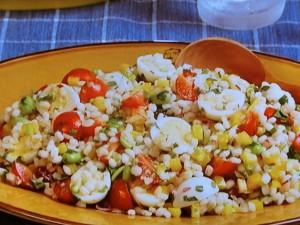 もち麦サラダ
