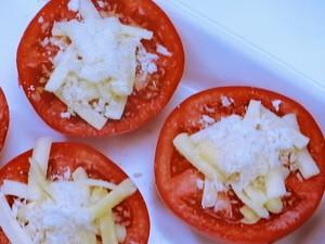 トマトのチーズ焼き