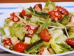 夏のおかずサラダ