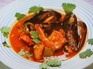 もこみち流 メキシコ風 シーフードスープ