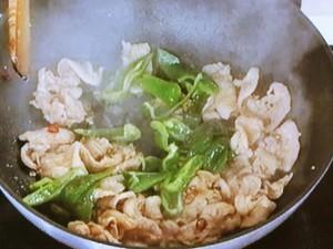 豚肉の花椒焼き