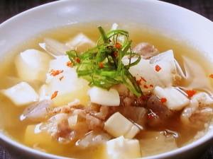 いかの滋養スープ