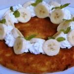 鍋焼きバナナケーキ