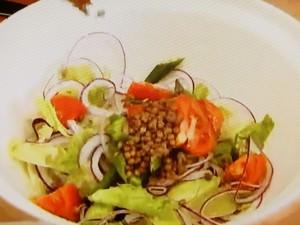 もこみち流 カレードレッシングのサラダ