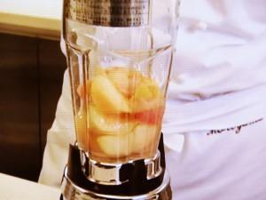 桃のグラニテ