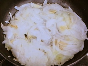 玉ねぎの卵焼き