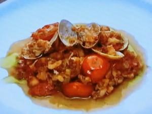 もこみち流 細かくきざんだタコとイカのトマト煮